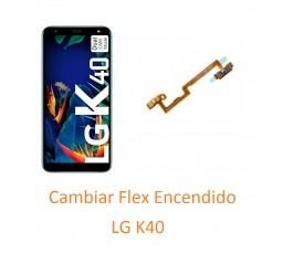 Cambiar Flex Encendido LG K40