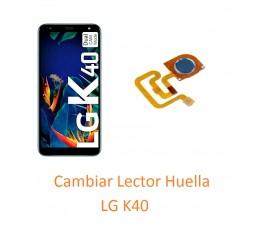 Cambiar Lector Huella  LG K40