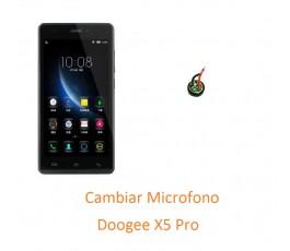Cambiar Microfono Doogee X5...