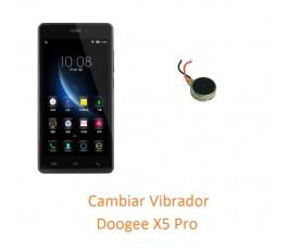 Cambiar Vibrador Doogee X5 Pro