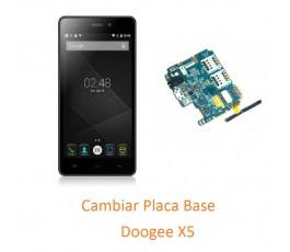 Cambiar Placa Base Doogee X5