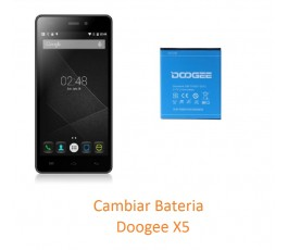 Cambiar Bateria Doogee X5