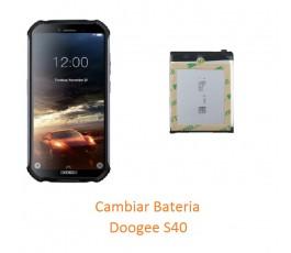 Cambiar Bateria Doogee S40