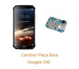Cambiar Placa Base Doogee S40