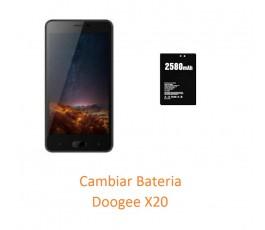 Cambiar Bateria Doogee X20