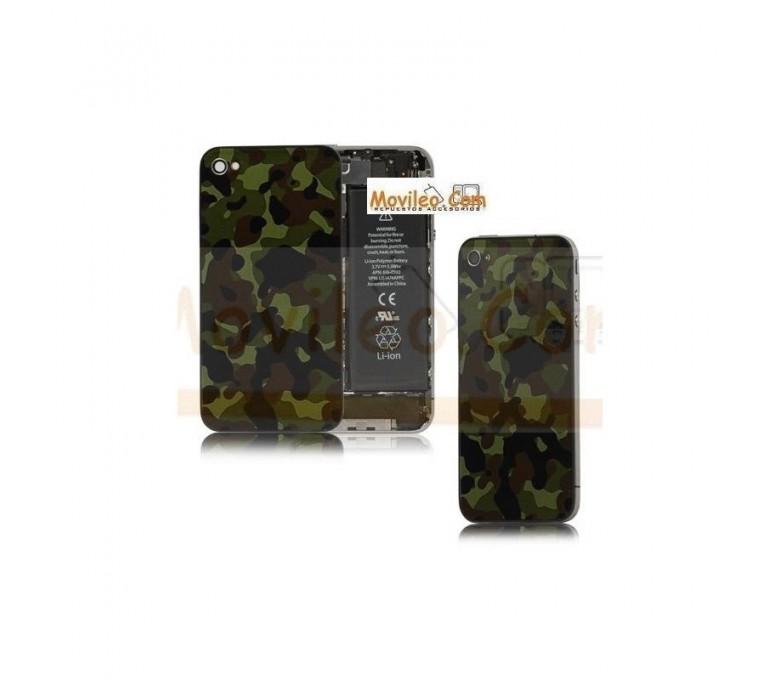 Carcasa trasera tapa de batería camuflaje para iPhone 4s - Imagen 1