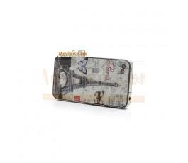 Carcasa trasera tapa de batería torre Eiffel con mariposas para iPhone 4s - Imagen 4