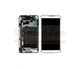 Pantalla Completa Blanca Con Marco para Samsung Galaxy Note 3 Neo N7505 - Imagen 1