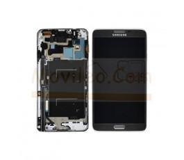 Pantalla Completa Gris Con Marco para Samsung Galaxy Note 3 Neo N7505 - Imagen 1