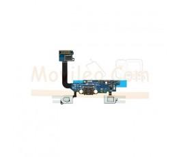 Flex Conector Carga , Microfono y Teclado para Samsung Galaxy  Alpha G850F - Imagen 1