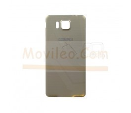Tapa Trasera Doarada para Samsung Galaxy  Alpha G850F - Imagen 1
