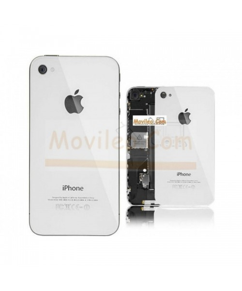 3b391121acb Carcasa trasera tapa de batería blanca para iPhone 4s