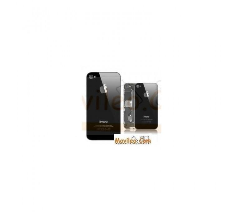 Carcasa trasera tapa de batería negra para iPhone 4s - Imagen 1