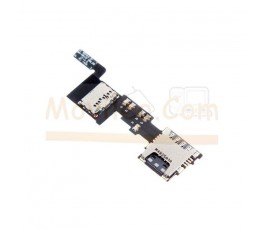 Flex Lector Tarjeta Sim y MicroSD para Samsung Galaxy Note 4 N910F - Imagen 1