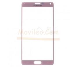 Cristal para Samsung Galaxy Note 4 N910F Rosa - Imagen 1