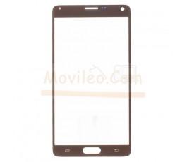 Cristal para Samsung Galaxy Note 4 N910F Dorado - Imagen 1
