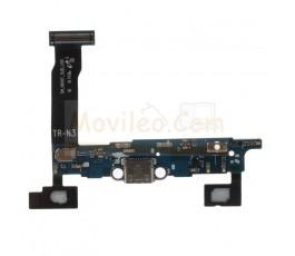 Flex conector carga y micrófono para Note 4 N910T - Imagen 1