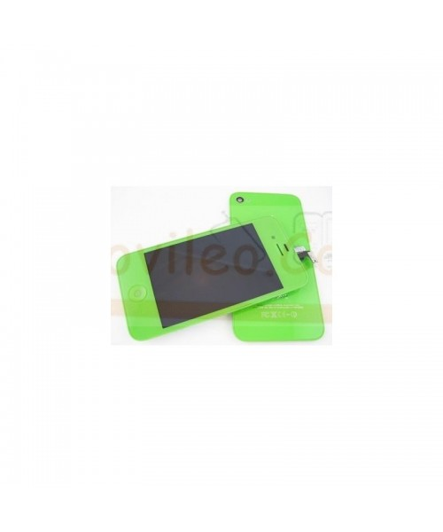 Kit Completo Verde iPhone 4S Pantalla + Tapa + Botón home - Imagen 1
