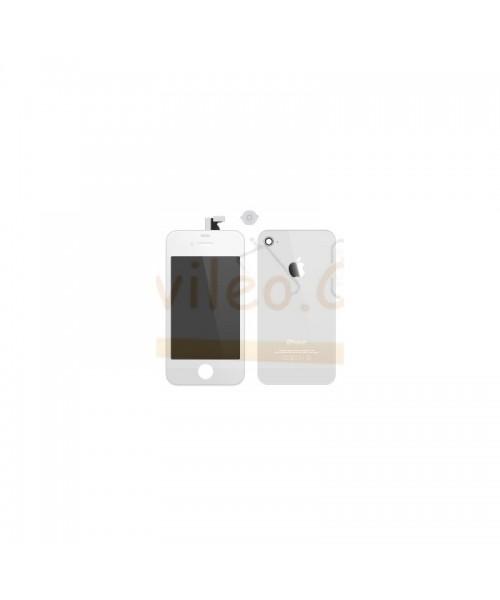Kit Completo Blanco iPhone 4S Pantalla + Tapa + Boton Home - Imagen 1