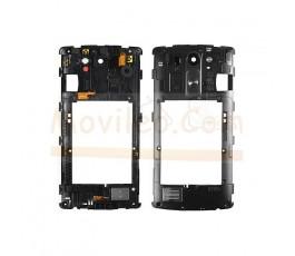 Carcasa Intermedia Negra Con Altavoz Buzzer para Lg G3S G3 Mini D722 - Imagen 1