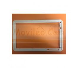 Marco del Tactil Blanco de Desmontaje para Szenio Tablet PC 2016DC - Imagen 1