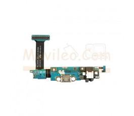 Flex Conector Carga Teclado Jack y Microfono para Samsung Galaxy S6 Edge G925 G925F - Imagen 1