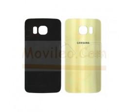 Tapa Trasera para Samsung Galaxy S6 Edge G925 G925F Dorada