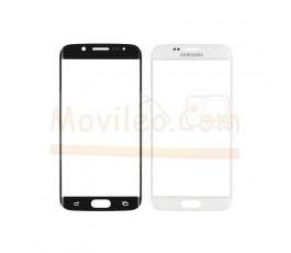 Cristal para Samsung Galaxy S6 Edge G925 G925F Blanco - Imagen 1