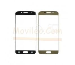 Cristal para Samsung Galaxy S6 Edge G925 G925F Dorado - Imagen 1