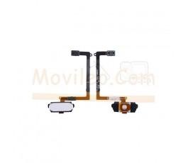 Flex Boton Home y Lector Huella para Samsung Galaxy S6 G920 G920F Blanco - Imagen 1