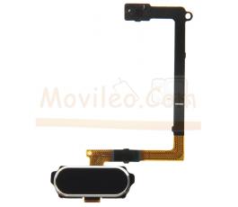 Flex Boton Home y Lector de Huella Samsung Galaxy S6 G920 G920F Negro - Imagen 1