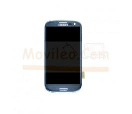 Pantalla Completa con marco para Samsung Galaxy S3 Neo i9301 Azul - Imagen 1