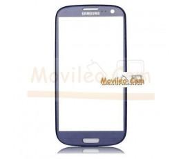 Cristal para Samsung Galaxy S3 Neo i9301i Azul - Imagen 1