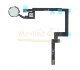 Flex botón home para iPad Mini 3 Plateado - Imagen 1
