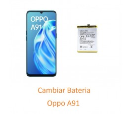 Cambiar Bateria Oppo A91