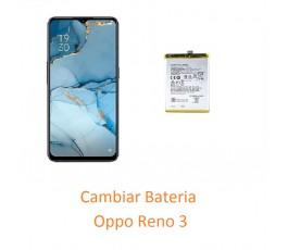 Cambiar Bateria Oppo Reno 3