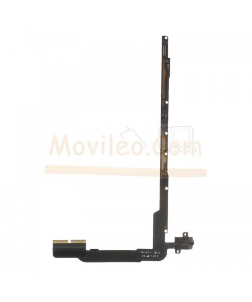 Modulo flex con conector jack audio para iPad 3 y iPad 4 Wifi - Imagen 1