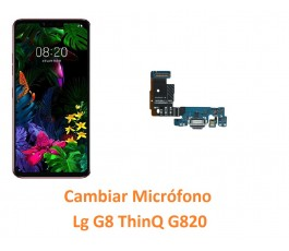Cambiar Microfono Lg G8...