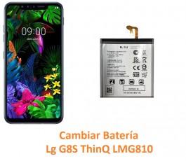 Cambiar batería Lg G8S...