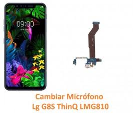 Cambiar Micrófono Lg G8S...