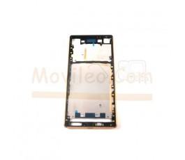 Carcasa Marco Dorado para Sony Xperia Z3 + Plus Z4  E6553 - Imagen 1
