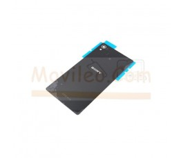 Tapa Trasera para Sony Xperia Z3 + Plus Z4 Negra - Imagen 1