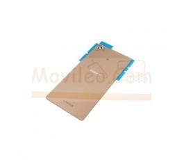 Tapa Trasera para Sony Xperia Z3 + Plus Z4 Dorada - Imagen 1