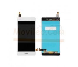 Pantalla Completa para Huawei Ascend P8 Lite Blanca - Imagen 1