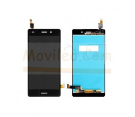 Pantalla Completa para Huawei Ascend P8 Lite Negra - Imagen 1