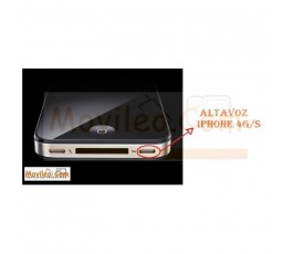 CAMBIAR ALTAVOZ IPHONE 4G 4S - Imagen 1