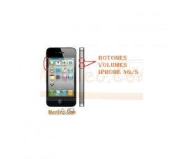 CAMBIAR BOTONES VOLUMEN IPHONE 4G 4S - Imagen 1