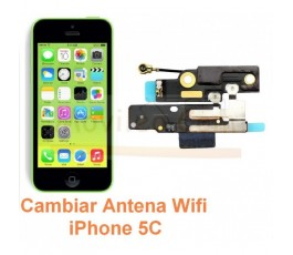 Cambiar Antena Wifi iPhone 5C - Imagen 1