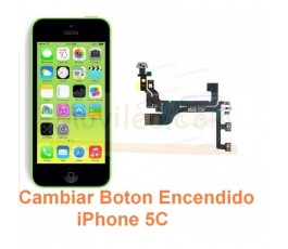 Cambiar Boton Encendido iPhone 5C - Imagen 1