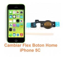Cambiar Flex Boton Home iPhone 5C - Imagen 1